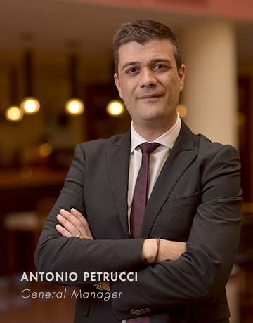 Grand Hotel Yerevan Antonio Petrucci General Manager